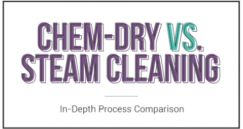 Chem-Dry dibandingkan Steam Cleaning