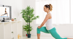 TIPS FOR STAYING HEALTHY WHILE AT HOME